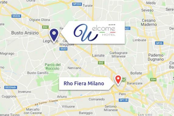 hotel a soli 12 minuti dalla fiera Milano Rho