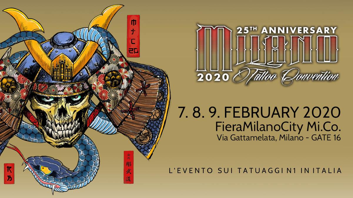 Milano Tatoo Convention 2020