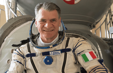 Paolo Nespoli astronauta